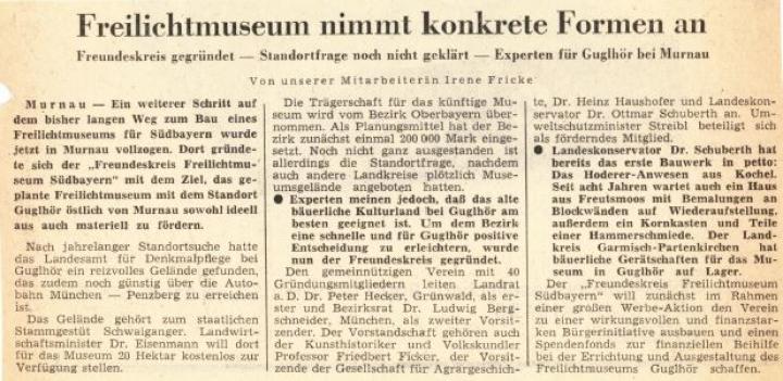 1972 GRÜNDUNG